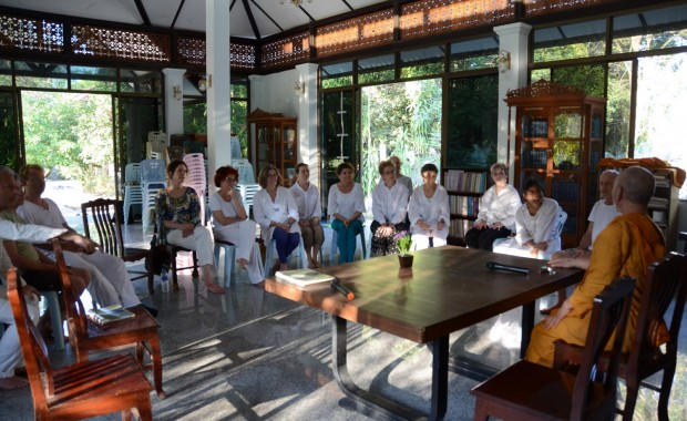 Stage Yoga Thaïlande Enseignement meditation moine