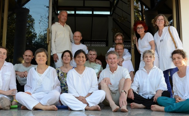 Stage Yoga Thaïlande groupe centre de meditation