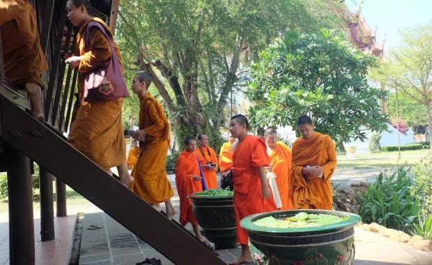 Stage Yoga Thaïlande Moines bouddhistes