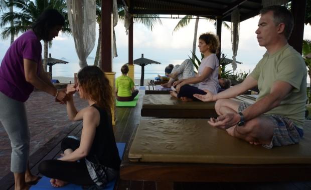 Stage Yoga Thaïlande Seance pranayama
