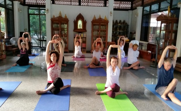 Stage Yoga Thaïlande centre meditation
