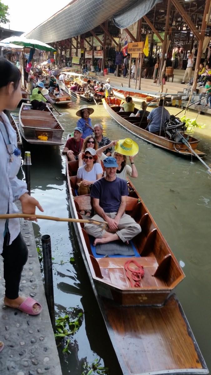 Stage Yoga promenade sur l'eau Thailande