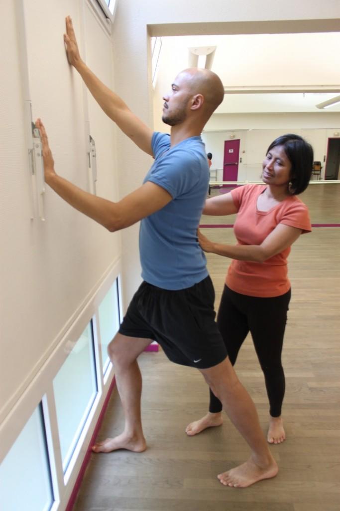 Cours particuliers yoga individuel professeur particulier yogamanjali Paris 20