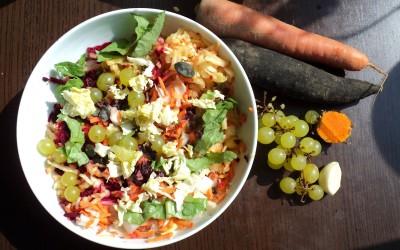 Salade détox d'automne
